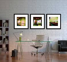 beautiful home office ideas. Home Office Wall Decor With Chicago Subway Art Series By Photography Beautiful Ideas