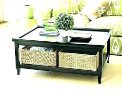 storage table with baskets side coffee perfect space lovely for under to go sid