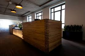 wood reception desk furniture design and floor rugs ideas also using glass window decorating