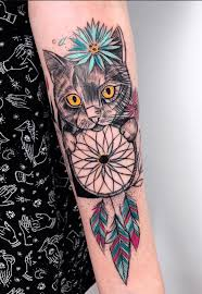 Dream Catcher Tattoo Color Dreamcatcher Tattoo Meanings Ink Vivo 70