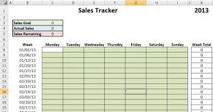 Sales Tracking Chart Sales Goal Tracking Spreadsheet Spring Tides Org