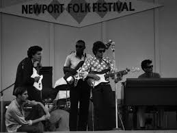Image result for images of bob dylan with the Paul Butterfield Band