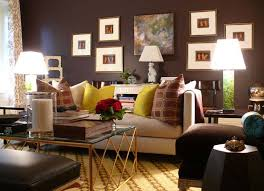 Small Picture small home decor with dark brown living room COLOR Brown Home