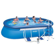 intex oval above ground pools.  Oval Intex Oval Frame Pool Throughout Above Ground Pools