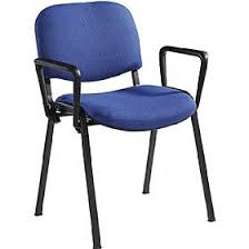 Swift Black Frame Conference <b>Chairs</b> With Arms (<b>4</b> Pack) | <b>Stacking</b> ...