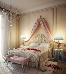 romantic bed room. Romantic Bedroom Designs With Roses On The White Bed Room E