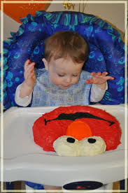 1st Birthday Cake Elmo Mommys Fabulous Finds