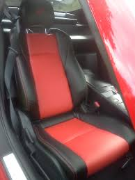 02 08 nissan 350z genuine leather seat covers