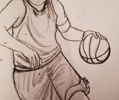 Basketball Drawing Pictures Basketball Lisa Chelkowski