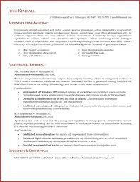 Free Administrative Assistant Resume Legal Administrative Resume
