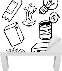 Sticker Gereedschappen Objecten Cartoon Illustratie Set Pixers