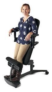 kneeling desk chair chairs deluxe posture office