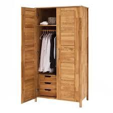 Holz Kleiderschrank Mit Inneneinrichtung Aus Wildeiche Massiv Memba