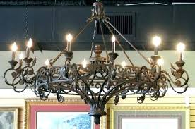 exceptional wrought iron outdoor candle chandelier pictures design canada