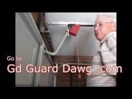 garage door break in zip tie fix is dangerous