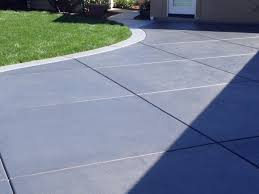 blue stained concrete patio. Blue Stained Concrete Patio