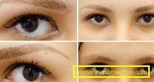 Oční Tetování Metodou Vlasů ženský časopis