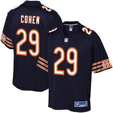 Navy Pro Cohen Chicago Men's Jersey Tarik Player Bears Line Nfl