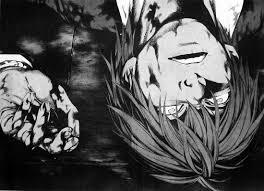 Death Note Light Death Curtain Death Note Wiki Fandom