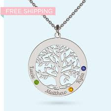ideal present for a woman who knows the value of family engrave a meaningful message under the tree and give her a gift she will absolutely love