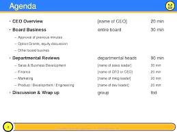 Board Report Template Word Ceo Report Template