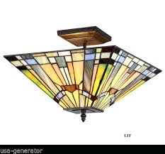 tiffany style light fixtures ceiling fixture 2 light mission style lighting stained glass handcrafted tiffany style ceiling light fixtures dragonfly tiffany
