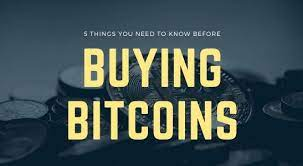 Only the sender and the receiver know who is involved with the transaction. 5 Things You Need To Know Before Buying Bitcoins The Fintech Times