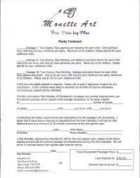 10 best face paint contracts n legal stuff images on painting contracts templates