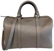 gucci satchel in gray image 0