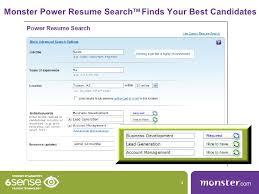 ... Classy Inspiration Monster Com Resume 14 Monstercom Power Resume Search  ...