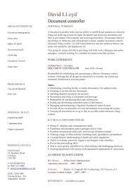 Job Profile Of Document Controller Document Controller Cv Sample Job Description File Validation