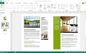 Microsoft Publisher Program Template Signup