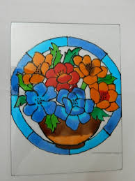 Glass Painting Ideas Designs Glass Painting Designs Creative Art And Craft Work New