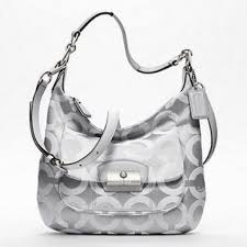 Coach Kristin Op Art Hobo Cross body