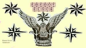 воровские тату орел восьмиконечник и роза ветров Qanuni Ogru Tatulari Ehedov Elnur 0157 Hd