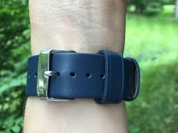 monowear leather band buckle