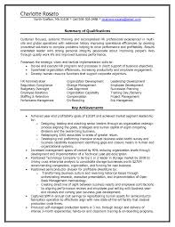 Resume Sample For Human Resource Position Human Resources Resume Summary Examples Lovely Sample Hr Hr Manager 41