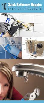 Bathroom Diy Ideas New Best Ideas For Diy Crafts 48 Quick Bathroom Repairs For The DIYer