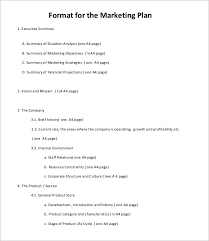 Marketing Plan Ppt Example 5 Marketing Plan Outline Templates Doc Pdf Excel Free