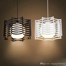 wrought iron pendant light modern brief lighting fitting bedroom lamp pendant lamp e27 5w white black pendant lighting glass pendant fixtures from