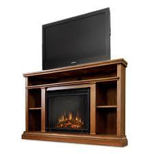 real flame oak churchill corner electric fireplace