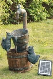 Smart Solar Square Solar Garden Outdoor Fountain  HayneedleSolar Garden Fountain