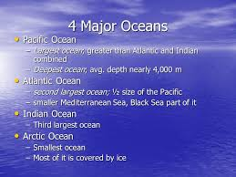 ocean by size exploring the ocean ppt video online download