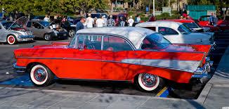 File:1957 Chevrolet Bel Air Sport Sedan - rear left.jpg ...