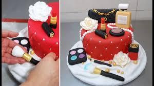 makeup fashion cake how to make torta maquillajes by cakesstepbystep