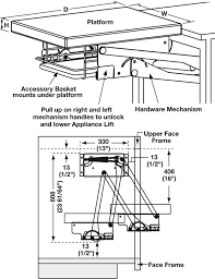 appliance lift hardware mechanism