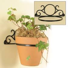 wall mounted plant pot holder