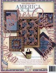 America the Beautiful Debbie Mumm Quilt Book &  Adamdwight.com