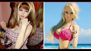 real life barbie without makeup