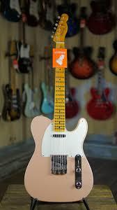 Fender Custom Shop Designed Telecaster Fender Custom Shop Limited Edition Namm 55 Telecaster Journeyman Aged Shell Pink